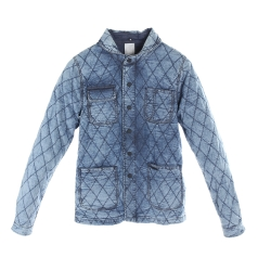 SHIRT JACKET DENIM